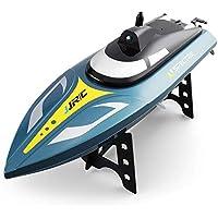 WQGNMJZ Barco del RC, Barco Grande de la Velocidad S4, transmisión de la Imagen en Tiempo Real de WiFi, el remar de competición aérea, Agua y Barco teledirigido del Juguete eléctrico