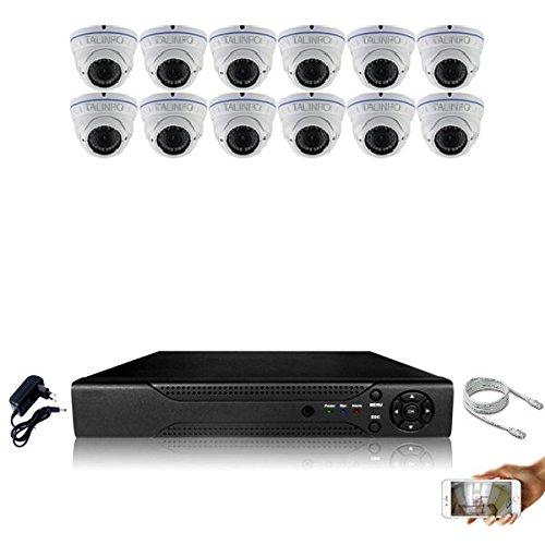 Kit-videovigilancia-12-Cmaras-IP-POE-Pro-Full-HD-1080p-Sony-24-MP--incluye-4000-GB-4-CABLE-de-30-m-8-x-20-m-sin-pantalla