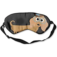 Long Haired Dachshund Sleep Eye Mask 100% Mulberry Silk Blindfold Travel Sleep Cover Eyewear preisvergleich bei billige-tabletten.eu