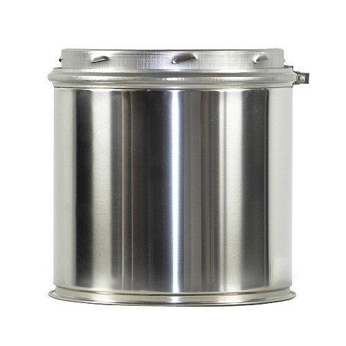 Shasta Vent 6a-0815,2cm alle-Kraftstoff HT Kamin und 20,3cm Kamin Rohr (Edelstahl Ofenrohr-8)