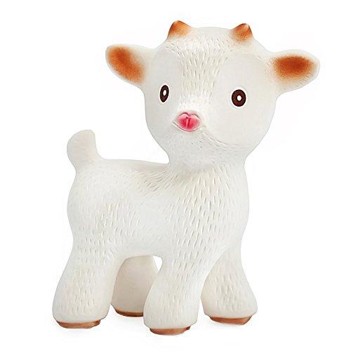 Preisvergleich Produktbild Sola die Ziege - Bio-Dentitionspielzeug aus Naturkautschuk - Frei von chemischen Zusatzstoffen: 0% PVC, BPA, Phthalate