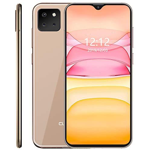 CUBOT X20 Pro Smartphone 6.3 FHD Pollici 2340 * 1080 Android 9 Pie 6GB + 128GB Tripla Fotocamere Batteria 4000mAh Octa Core Face ID Dual SIM Cellulare Oro