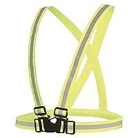 شريط عاكس يتم لبسه لحماية الدراج يستخدم للدراجات الهوائية والنارية والعاب التزلج