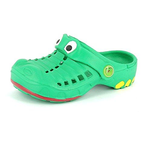 Indigo Schuhe371020-709 - Sabot Bambino Verde
