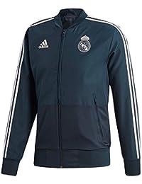 adidas Real Madrid- Chaqueta oficial del real madrid para hombre (S)