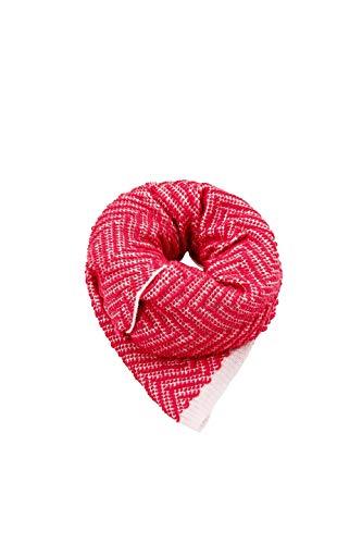 Esprit Accessoires 108ea1q010 Bufanda, Rojo Plum Red 605, única Talla del Fabricante:...