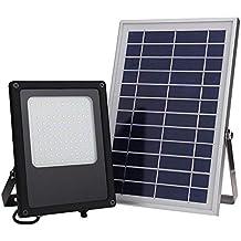 02c1a70057755 Foco Solar CLY Lámpara Solar 50W Luz solar de la yarda de inundación del  sensor de