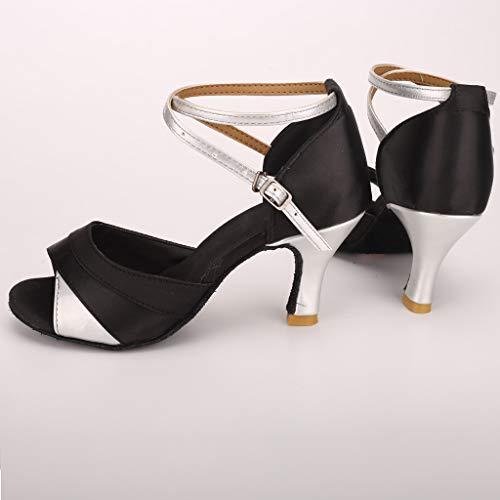 Ladies Latin Dance Shoes Salsa Ballroom UK Size 3 3.5 4 4.5 5 5.5 6 6.5 7 7.5 8