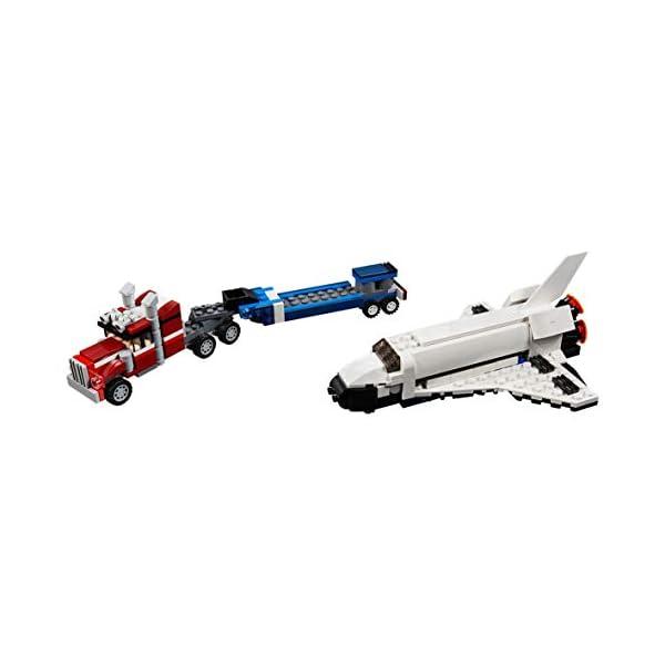 LEGO Creator - Trasportatore di shuttle, 31091 3 spesavip