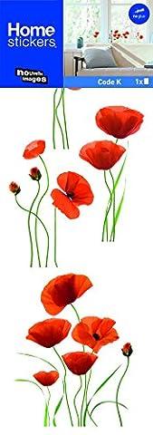 Stickers Fenêtres Coquelicots rouges (COPPIETERS VAN CAUWENBERGHE) Nouvelles Images