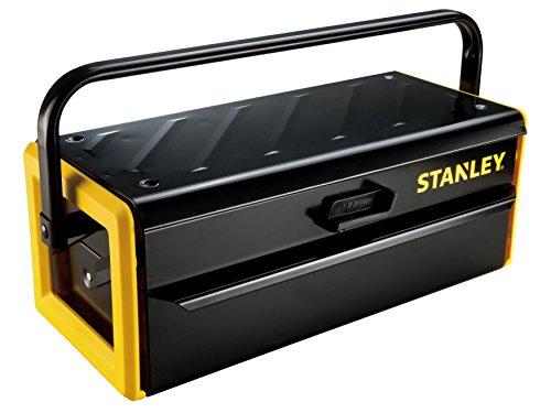 Stanley Werkzeugkasten (16 Zoll, aus Metall, Cantilever-Design für volle Sichtbarkeit und freien...