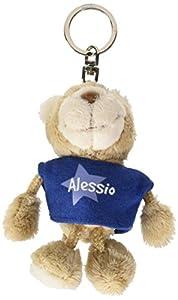 NICI n15852-Llavero Oso con Camiseta Alessio, Azul