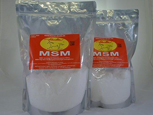 Horse-Direkt MSM 2 x 1kg (Methylsulfonylmethan)