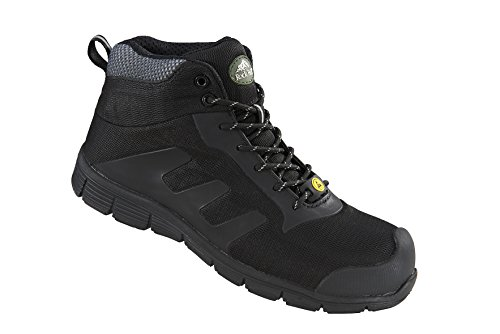 Rock Fall rf120 Tesla ESD Scarpe di sicurezza. Black