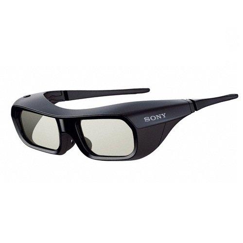 Sony TDG-BR200B 3D-Active Shutter Brille (Bügel, USB 2.0) schwarz