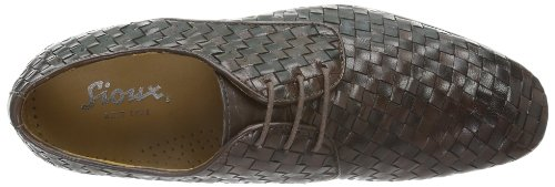 marrone 27 Lace Bodowin Up Marrom Brogues Homens 460 Sioux BxzafSw