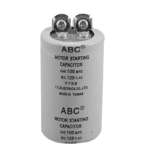 Cilinder 100MFD 125VAC motor start condensator -