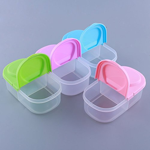 Generic Food Saver Frische Lagerung gratis Pumpe Vakuum Box Container verwendbar Langlebig Multicolor Home PU 18,5x 9,7x 5,7Organizador (Multicolor-lagerung-container)