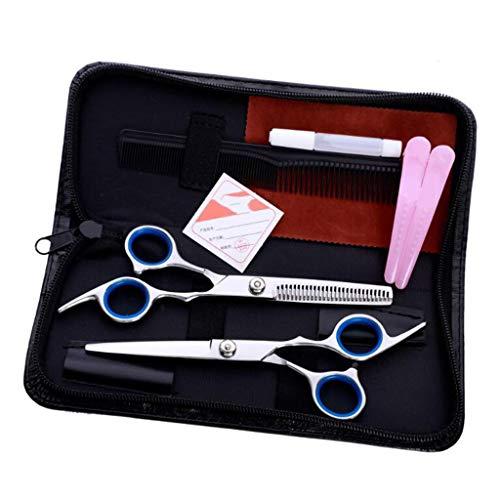 Zhufu Hundesalon Scissors, Frisuren Friseurschere, gemessert Bangs, Schere, Effilierschere, Familie Friseur Werkzeugset