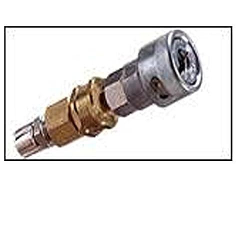 MSA SKU # 454-629981 629981 --- PLUG QDISC FOSTER BRS MALE W/FEM 1/4
