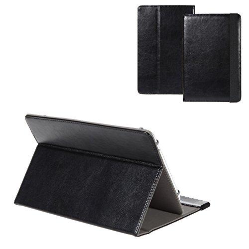 BRALEXX Universal 10 Zoll Tablet Tasche passend für Blaupunkt ENDEAVOUR 1000 QC, Schwarz