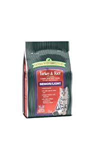 James Wellbeloved Senior Turkey And Rice Dry Cat Food 2 Kg from Crown Pet Foods