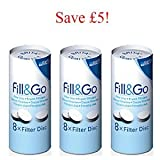 Brita Fill & Go filter discs – 6 Months Supply (SAVE £5)