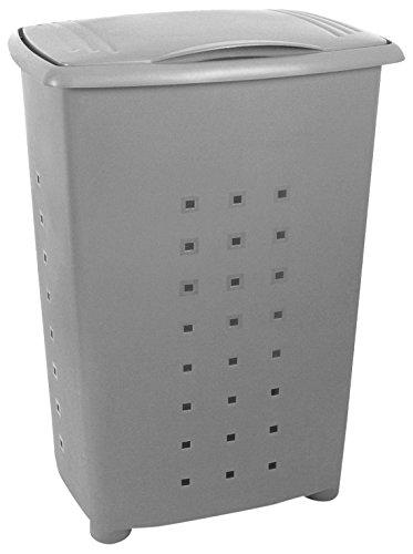TATAY Millenium - Cesto para la Colada con Tapa, 60 Litros de Capacidad, 43 x 35,5 x 64, Color Gris