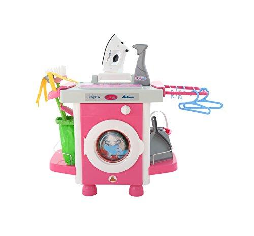 Polesie 48103 Set Waschmaschine mit Zubehör Carmen