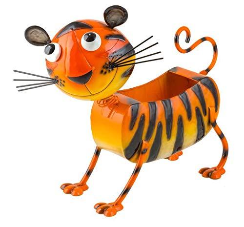 Fountasia Vaso Da Giardino In Metallo Motivo Tammy La Tigre