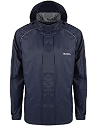 Mountain Warehouse Chaqueta impermeable para hombre Pakka