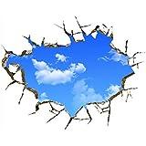 3d Azul Cielo Nubes Techo Pegatinas De Pared Hogar Bricolaje Arte Pvc Decoracion Etiqueta Mural
