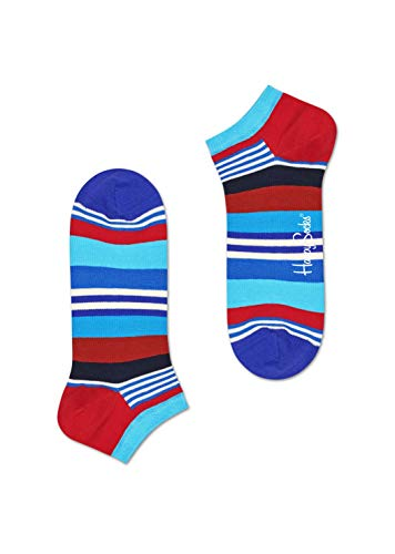 Happy Socks Unisex Niedrige Socken aus der Neuesten Kollektion Multi Stripe Größe 41-46 -