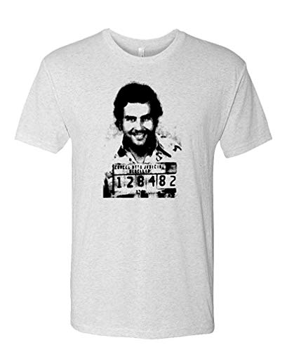- Pablo Escobar Mugshot - Mens Cotton T-Shirt S
