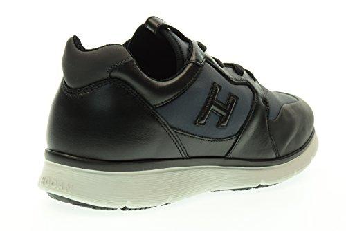 HOGAN homme baskets basses HXM2540V600E57444I H254 T2015 NEW SNEAKERS H 3D Blu-nero