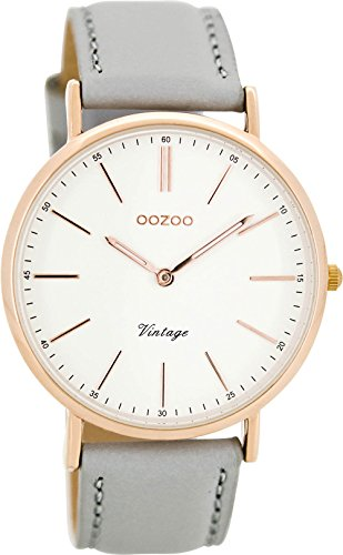 Oozoo Damenuhr Digital Quarz mit Lederarmband – C8166