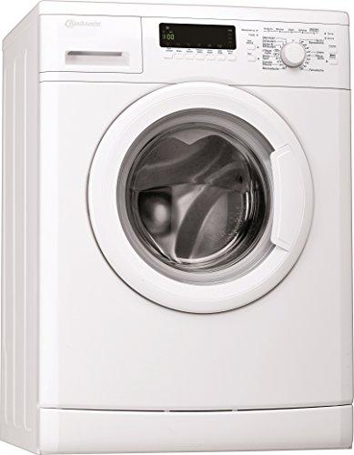 Bauknecht WA Care 724 PS Waschmaschine FL / A+++ / 122 kWh/Jahr / 1400 UpM / 7 kg / Unterbaufähig /Dosieranzeige und EcoMonitor / weiß