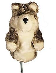 essepiemme Golf–coprilegno forme de loup en polyester, flax, selon norme CE