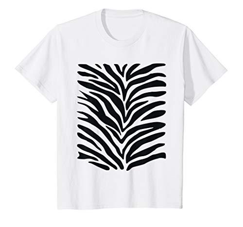 Kostüm Niedliche Zebra - Kinder Lustiges Zebra Kostüm T-Shirt