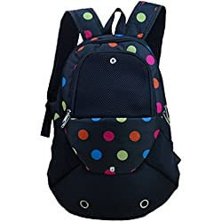 YOUJIA Perro Mochila Ajustable bolso de Pecho portátil Frente Transpirable para Pequeña mascota / Cuadrícula Impreso