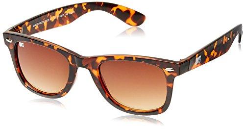 MTV Gradient Wayfarer Unisex Sunglasses (Demi Brown) (MTV Gradient-122-C4) image
