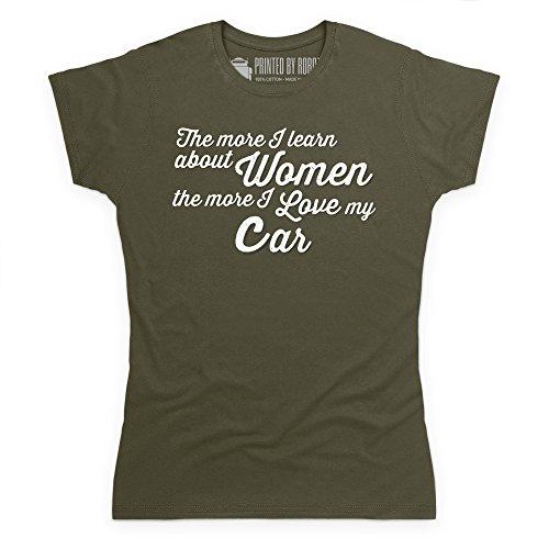 Cars For Men T-Shirt, Damen Olivgrn