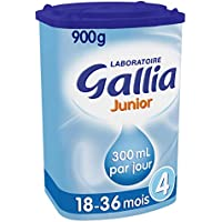 Laboratoire Gallia Junior - Lait bébé en poudre de 18 mois à 3 ans 900 g - Lot de 3