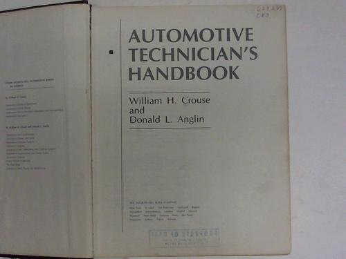 Automotive Technician's Handbook
