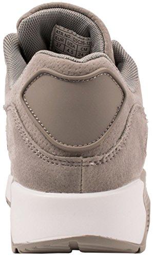 Sport Femmes et Hommes Chaussures rangers Chaussures de course profil semelle Baskets Grau Basic Flair