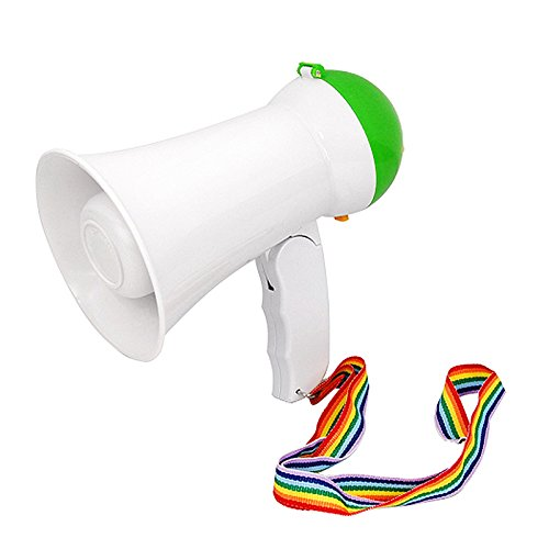 TOOGOO(R) Nuovo potente megafono Hailer forte altoparlante Horn Siren & controllo del volume