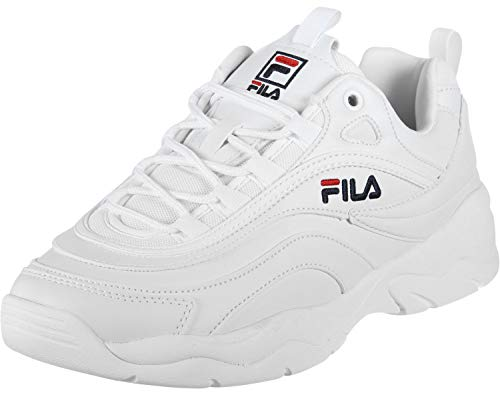 Fila Ray Low Sneakers Bianco 1010561.1FG (42 - Bianco)