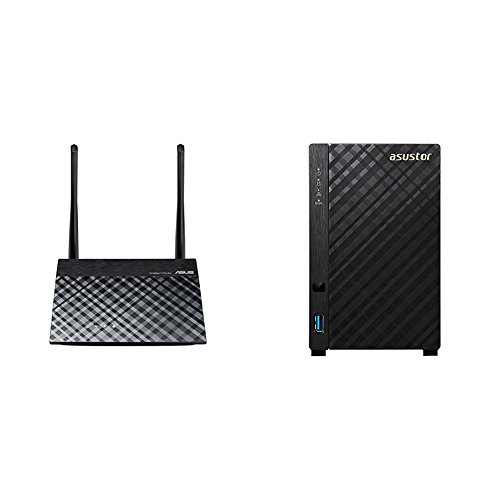 RT-N12E Router + passendes Asustor NAS AS1002T