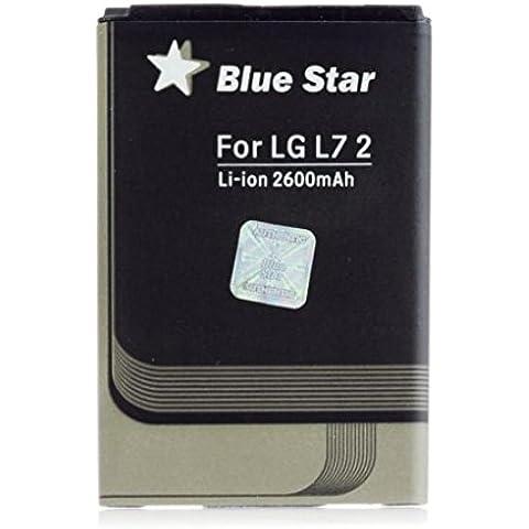 BATERIA LARGA DURACIÓN BLUE STAR PREMIUM para LG OPTIMUS L7 II 2 P710 2600 mAh