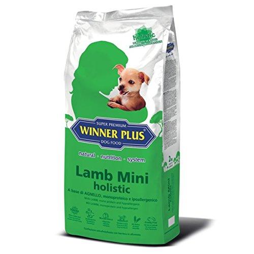 WINNER PLUS Lamb Mini holistic 10 kg - A base di agnello, monoproteico e ipoallergenico